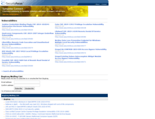 securityfocus.com screenshot