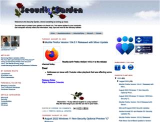 securitygarden.blogspot.com screenshot