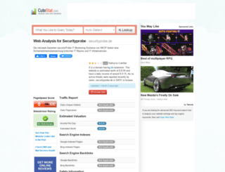 securityprobe.de.cutestat.com screenshot