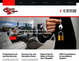 securitysolutionslockandsafe.com screenshot