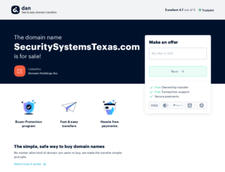securitysystemstexas.com screenshot