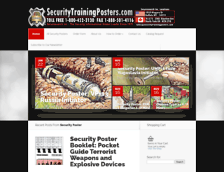 securitytrainingposters.com screenshot