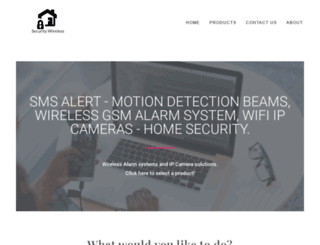 securitywireless.co.za screenshot