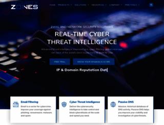 securityzones.net screenshot