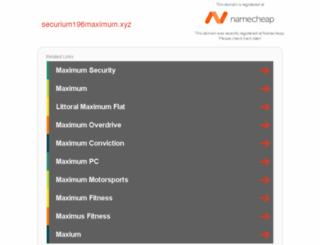 securium196maximum.xyz screenshot