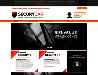 securycar.fr screenshot