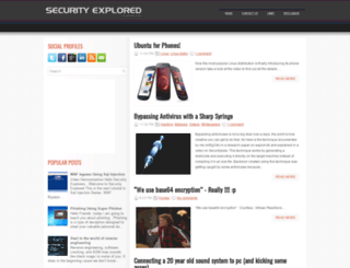 secxplrd.blogspot.com.eg screenshot
