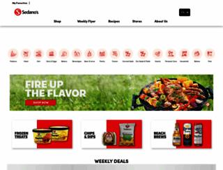 sedanos.com screenshot