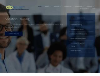 sedationconsulting.com screenshot