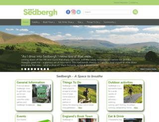 sedbergh.org.uk screenshot