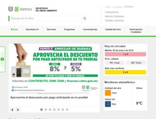 sedema.df.gob.mx screenshot