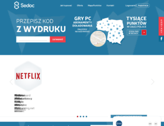 sedoc.pl screenshot