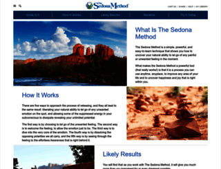 sedona.com screenshot