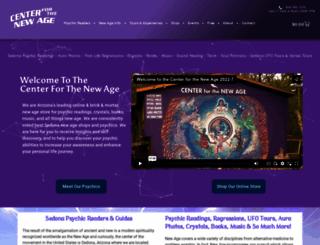 sedonanewagecenter.com screenshot