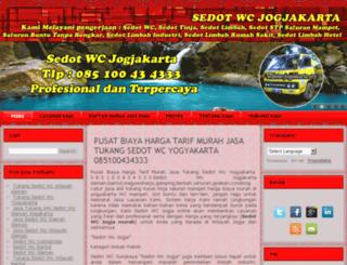 sedotwcjogjakarta.org screenshot
