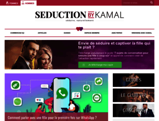 seductionbykamal.com screenshot