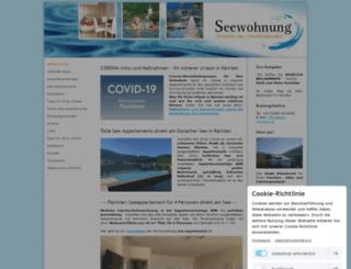 see-wohnung.at screenshot