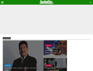 seeandsay.in screenshot