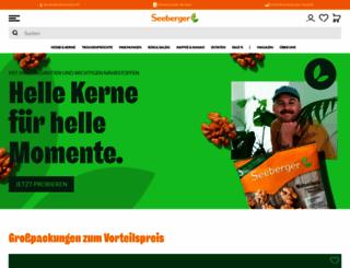 seeberger.de screenshot