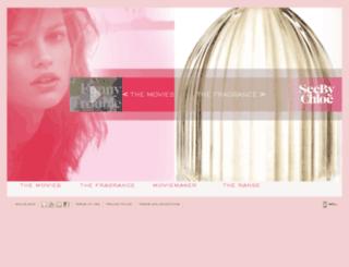 seebychloe-fragrance.com screenshot