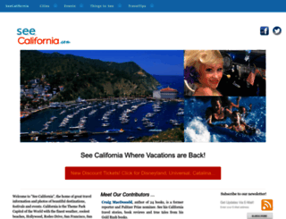 seecalifornia.com screenshot
