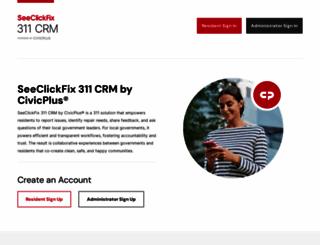 seeclickfix.com screenshot