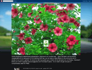 seedandothersforsale.blogspot.com screenshot