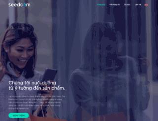 seedcom.vn screenshot