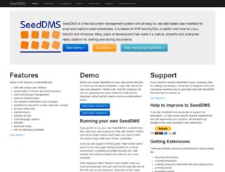 seeddms.org screenshot