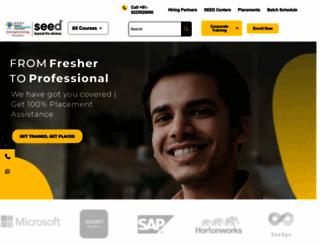 seedinfotech.com screenshot