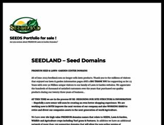 seedland.com screenshot