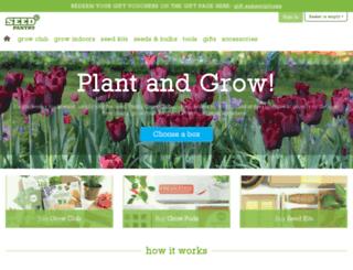 seedpantry.co.uk screenshot