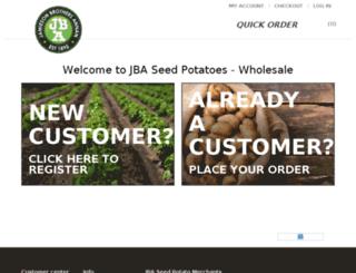 seedpotatomerchants.co.uk screenshot