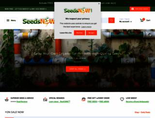 seedsnow.com screenshot