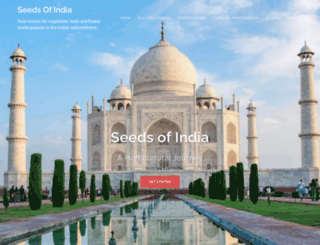 seedsofindia.com screenshot