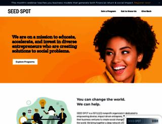 seedspot.org screenshot