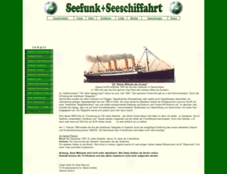 seefunknetz.de screenshot