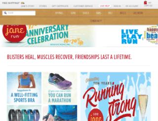 seejanerun.com screenshot