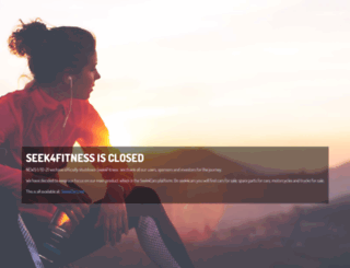 seek4fitness.net screenshot