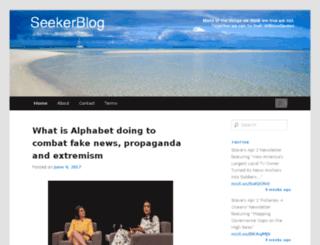 seekerblog.com screenshot
