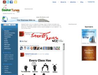 seekertunes.com screenshot