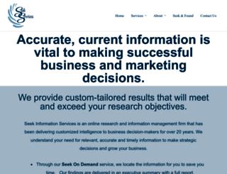 seekinfo.com screenshot