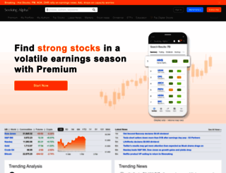 seekingalpha.com screenshot