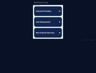 seekinternet.org screenshot