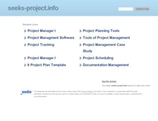 seeks-project.info screenshot