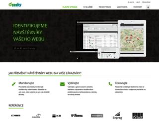 seeky.cz screenshot