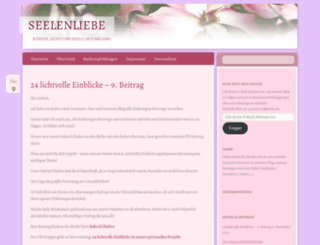 seelenliebe.wordpress.com screenshot