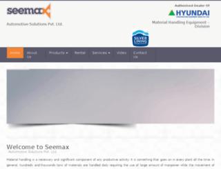 seemaxautomotive.com screenshot