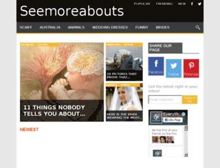 seemoreabouts.com screenshot