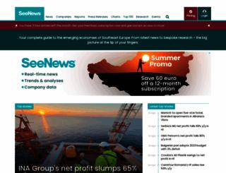 seenews.com screenshot